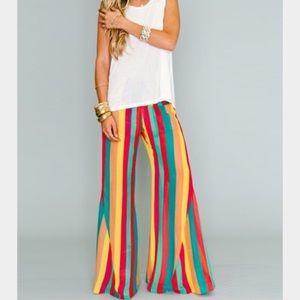Show Me Your Mumu SMYM party pants - lolli stripe